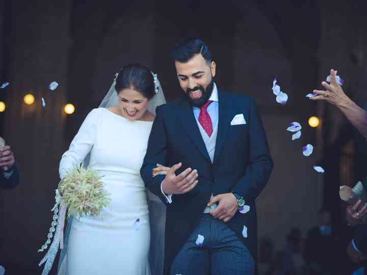 La boda de Lucrecia y Javi