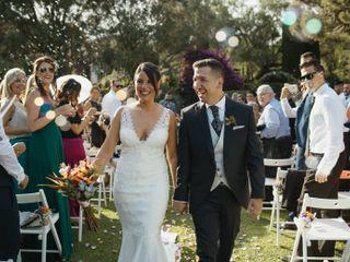 La boda de Mónica y Rafa