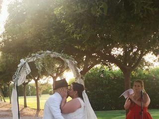 La boda de Amparo y Rubén  2
