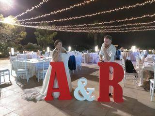 La boda de Amparo y Rubén