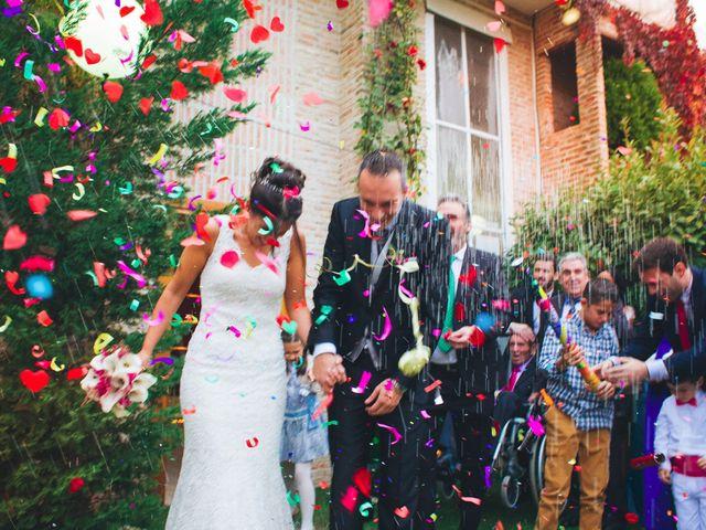 La boda de Nazaret y Juanjo