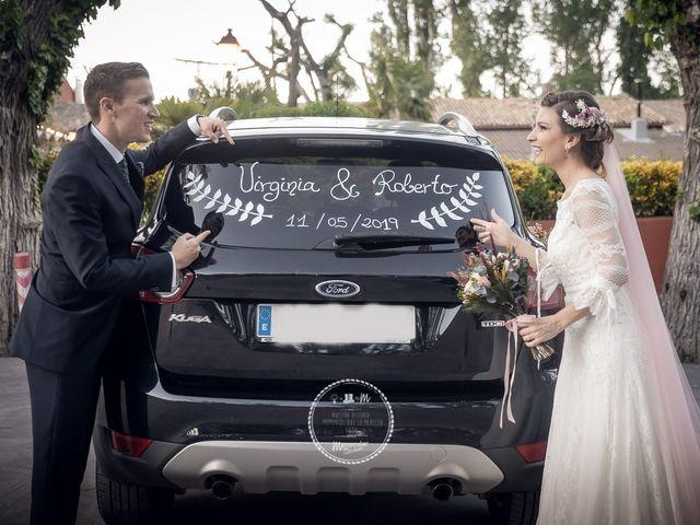 La boda de Roberto y Virginia en Hontanaya, Cuenca 9