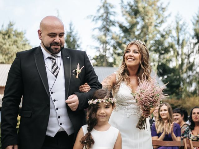 La boda de Anxo y Nahiara en Gondomar, Pontevedra 43