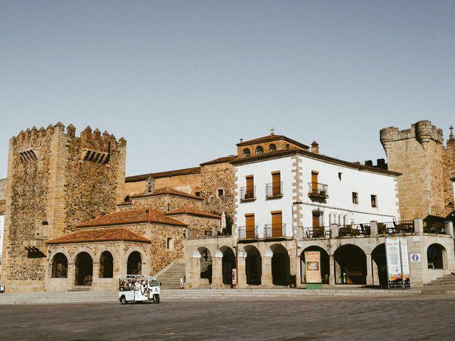 La boda de Miguel y Marta en Cáceres, Cáceres 1