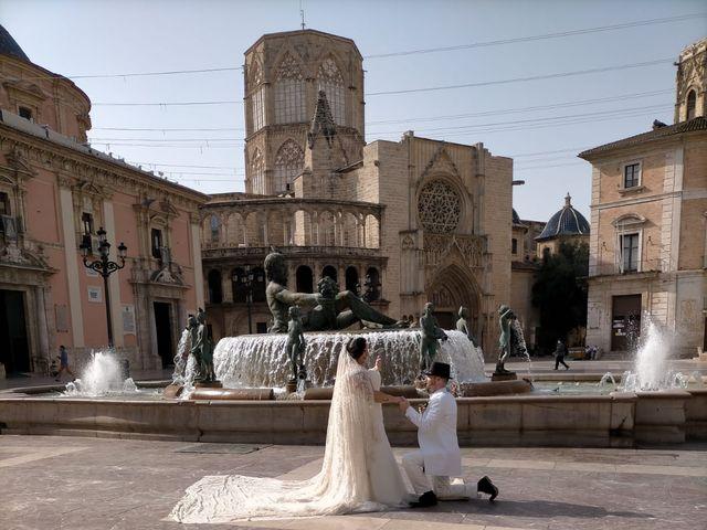 La boda de Rubén  y Amparo en Valencia, Valencia 9