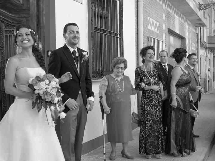 La boda de Mónica y José