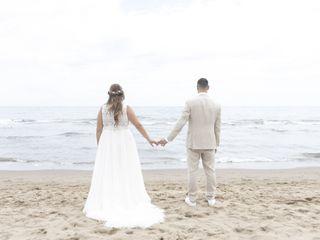 La boda de Tamara y Andrea