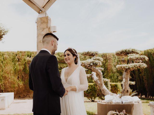 La boda de Estela y Fede en L' Alcúdia, Valencia 33
