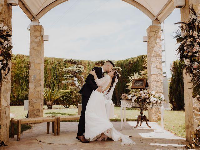 La boda de Fede y Estela