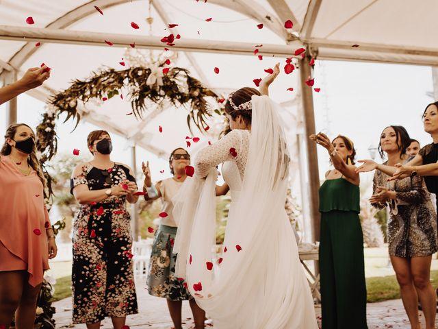 La boda de Estela y Fede en L' Alcúdia, Valencia 35