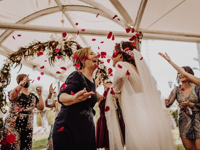 La boda de Estela y Fede en L' Alcúdia, Valencia 1