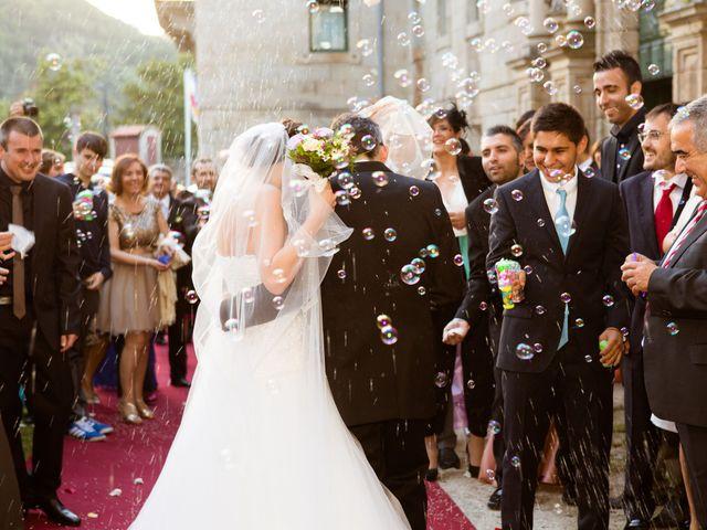 La boda de Manuel y Mila en Nogueira De Ramuin, Orense 1