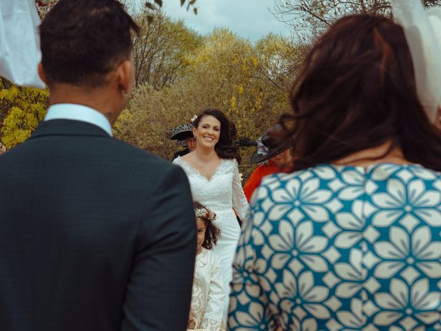 La boda de Miguel y Tania en Pinilla Del Valle, Madrid 7
