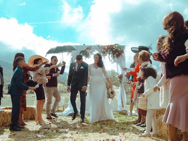 La boda de Miguel y Tania en Pinilla Del Valle, Madrid 14
