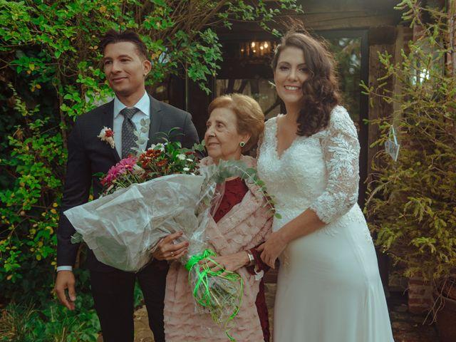La boda de Miguel y Tania en Pinilla Del Valle, Madrid 25