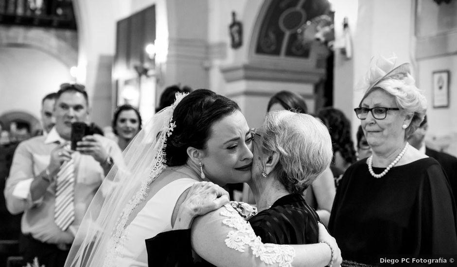 La boda de Mario y Rocío Belén en Monterrubio De La Serena, Badajoz