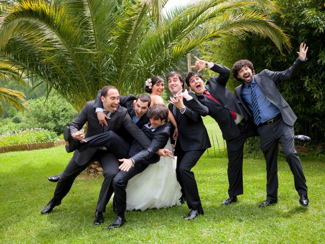 La boda de Iker y Zaida en Galdakao, Vizcaya 25