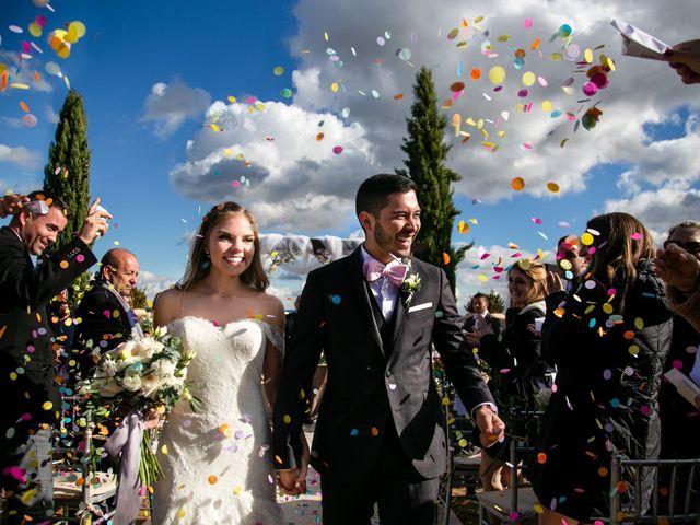 La boda de Jessid y Natalie en San Agustin De Guadalix, Madrid 1