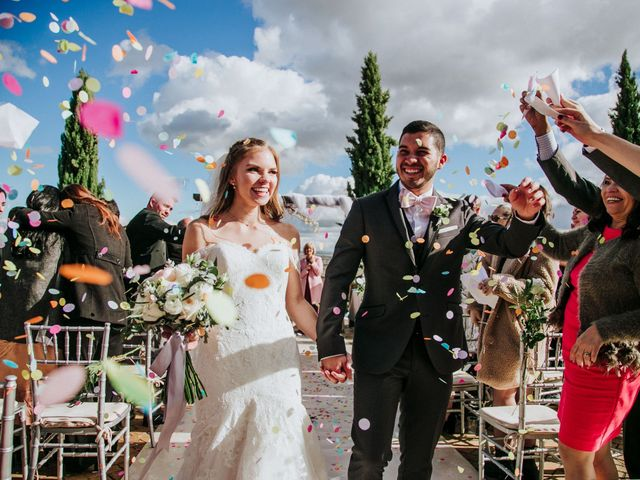 La boda de Jessid y Natalie en San Agustin De Guadalix, Madrid 40
