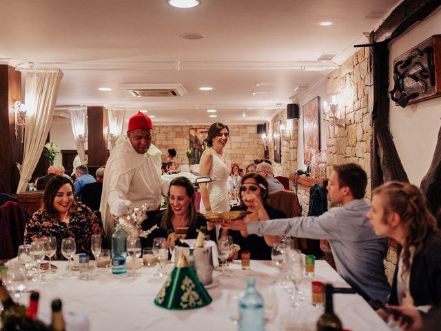 La boda de Bilal y Izaskun en Berango, Vizcaya 32