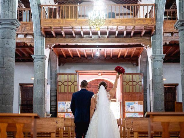 La boda de Jose  y Angie en La Victoria De Acentejo, Santa Cruz de Tenerife 2