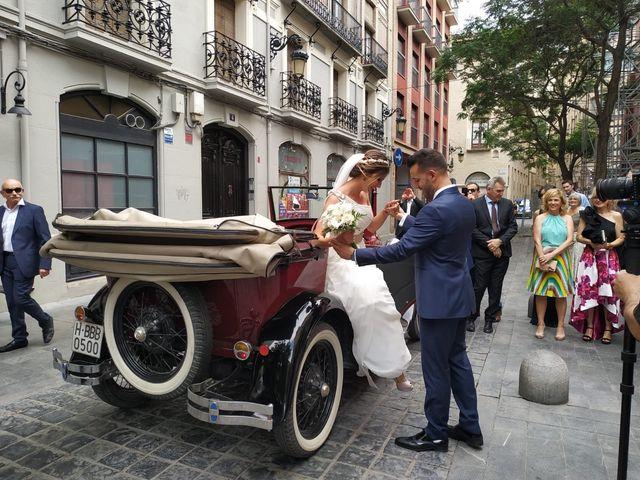 La boda de Oscar y Estela  en Zaragoza, Zaragoza 4