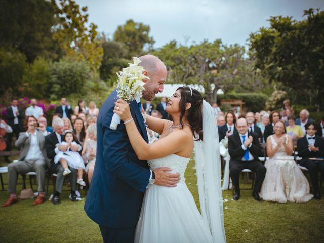 La boda de Andrea y Fletcher