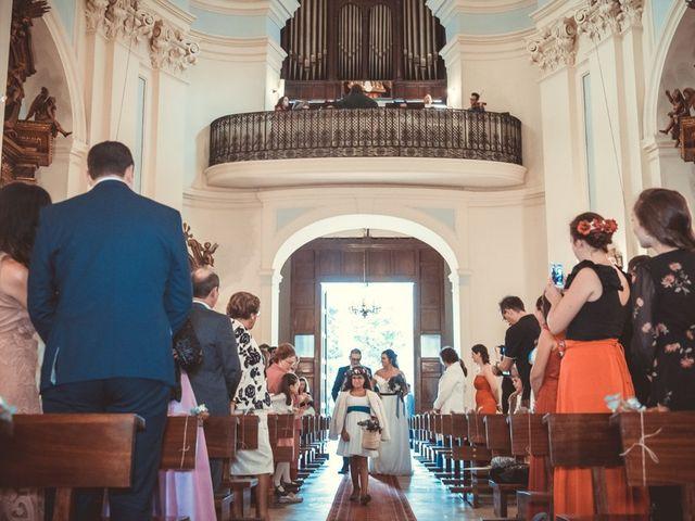 La boda de Rubén y Alexandra en Madrid, Madrid 35