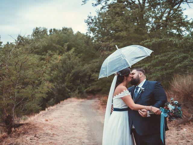 La boda de Alexandra y Rubén