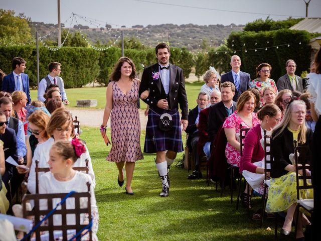 La boda de Will y Mariem en Topas, Salamanca 45