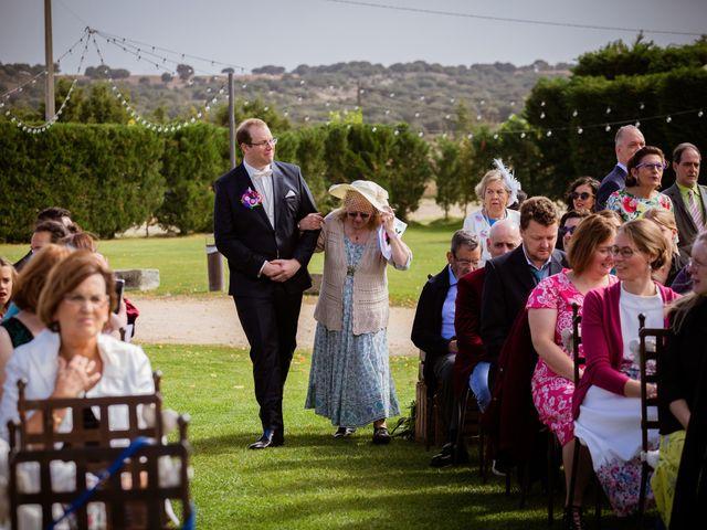 La boda de Will y Mariem en Topas, Salamanca 46