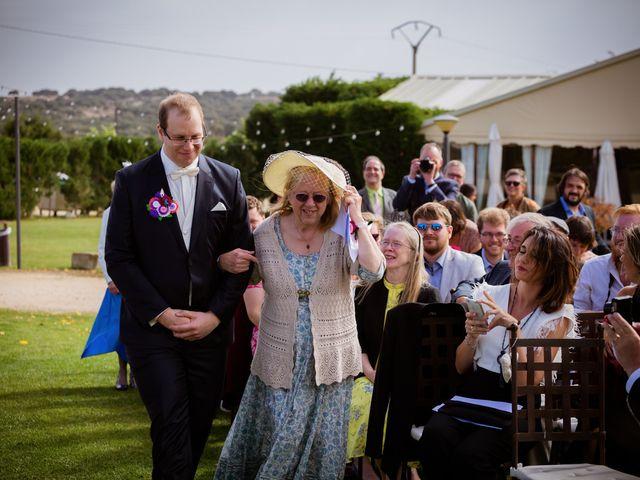 La boda de Will y Mariem en Topas, Salamanca 47