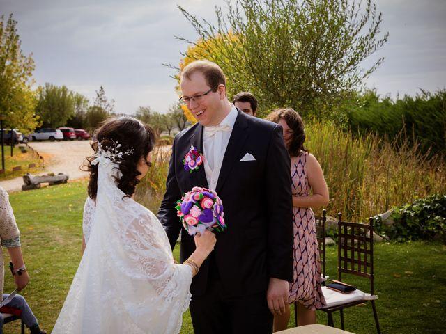 La boda de Will y Mariem en Topas, Salamanca 52