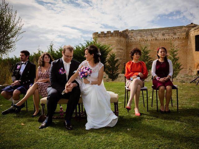 La boda de Will y Mariem en Topas, Salamanca 53
