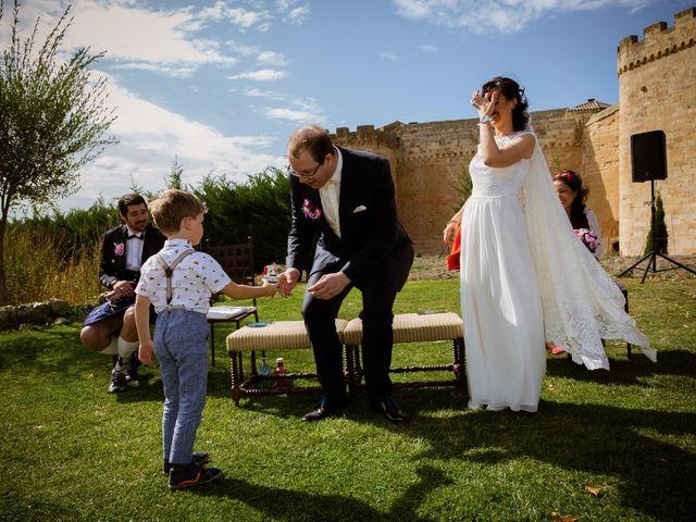 La boda de Will y Mariem en Topas, Salamanca 54