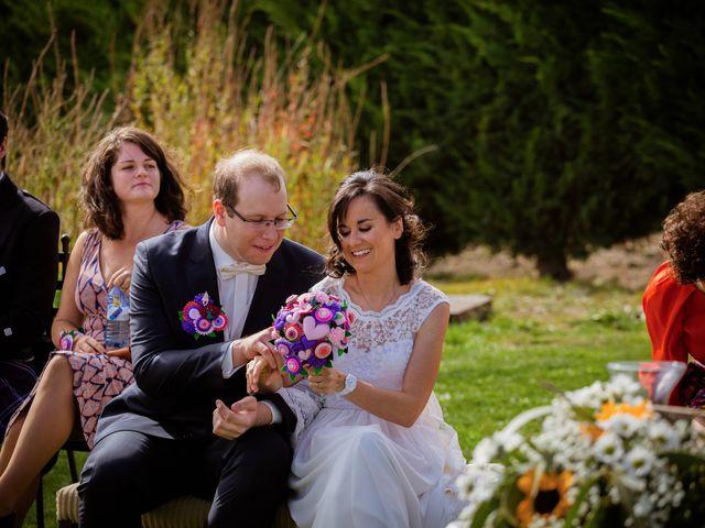 La boda de Will y Mariem en Topas, Salamanca 57