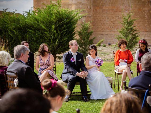 La boda de Will y Mariem en Topas, Salamanca 58
