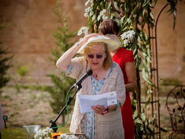 La boda de Will y Mariem en Topas, Salamanca 60