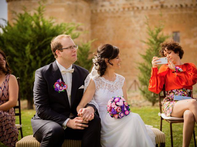 La boda de Will y Mariem en Topas, Salamanca 68