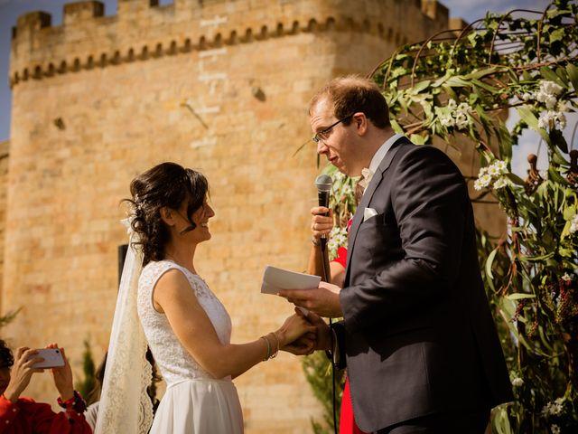 La boda de Will y Mariem en Topas, Salamanca 73