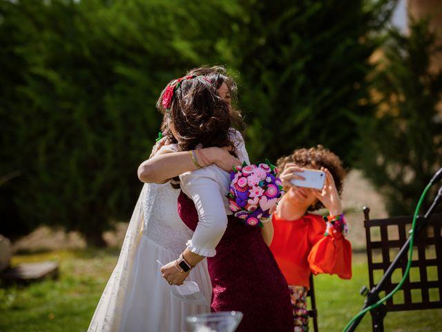La boda de Will y Mariem en Topas, Salamanca 76