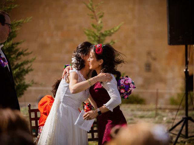 La boda de Will y Mariem en Topas, Salamanca 82