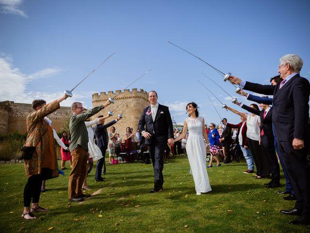 La boda de Will y Mariem en Topas, Salamanca 86