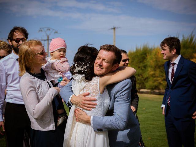 La boda de Will y Mariem en Topas, Salamanca 91