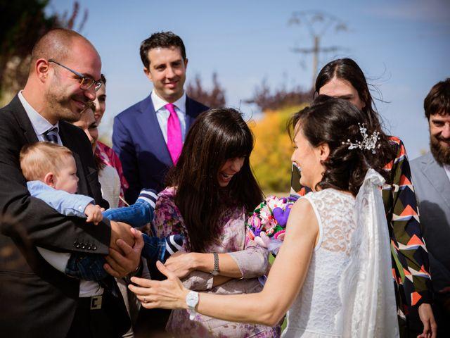 La boda de Will y Mariem en Topas, Salamanca 92