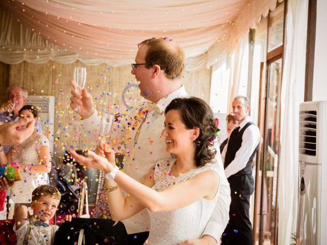 La boda de Will y Mariem en Topas, Salamanca 142