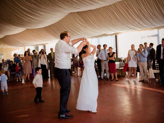 La boda de Will y Mariem en Topas, Salamanca 151