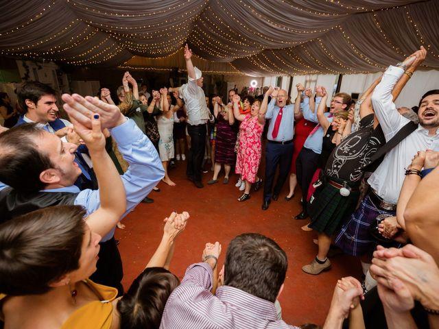 La boda de Will y Mariem en Topas, Salamanca 152