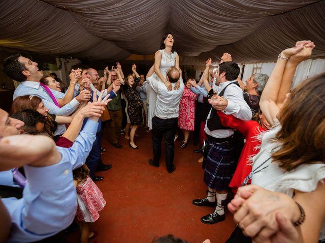 La boda de Will y Mariem en Topas, Salamanca 153