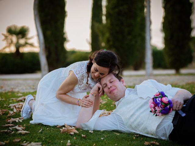 La boda de Will y Mariem en Topas, Salamanca 170